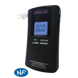 ETHYLEC breath analyser for alcohol