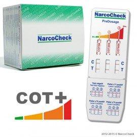 COTININE PreDosage test (3 detection levels)